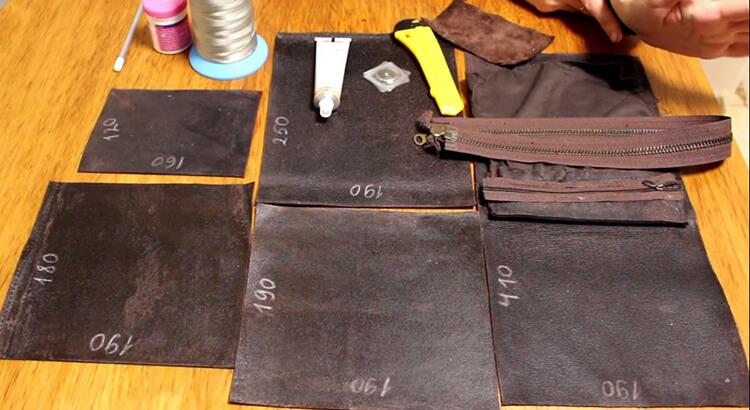 сшить сумку из кожи 3