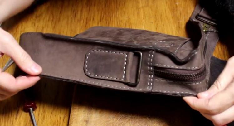 сшить сумку из кожи 37