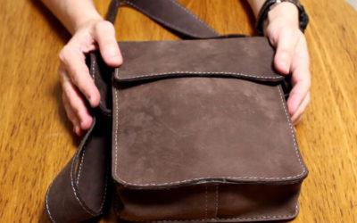 Сшить сумку из кожи своими руками: мастер-класс 50 + фото