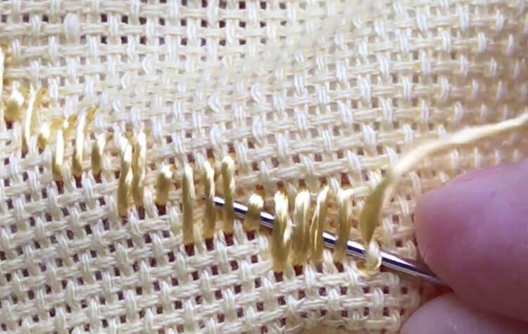 техника вышивки 10