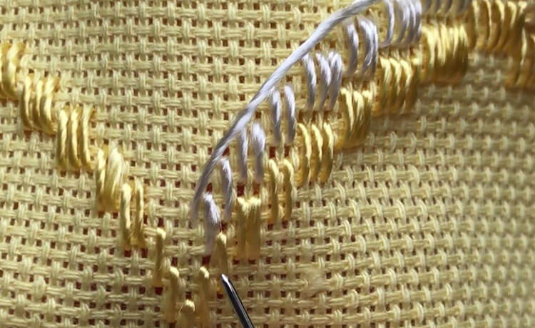 техника вышивки 13