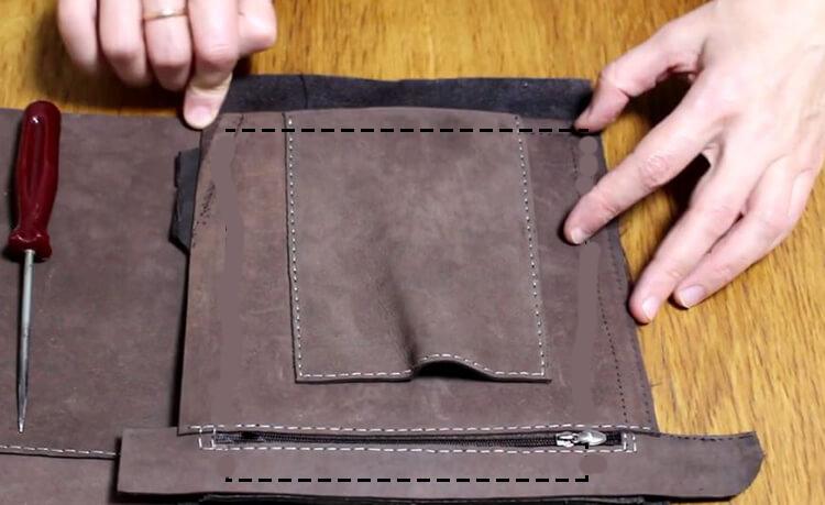 выкройка сумки 20