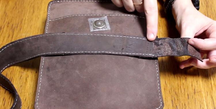 Сшить сумку из кожи39