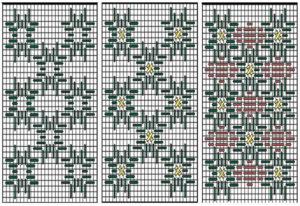 флорентийская вышивка схемы 26