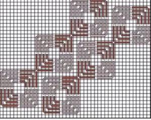 флорентийская вышивка схемы 29