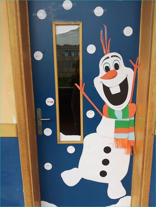 украшаем дверь 1