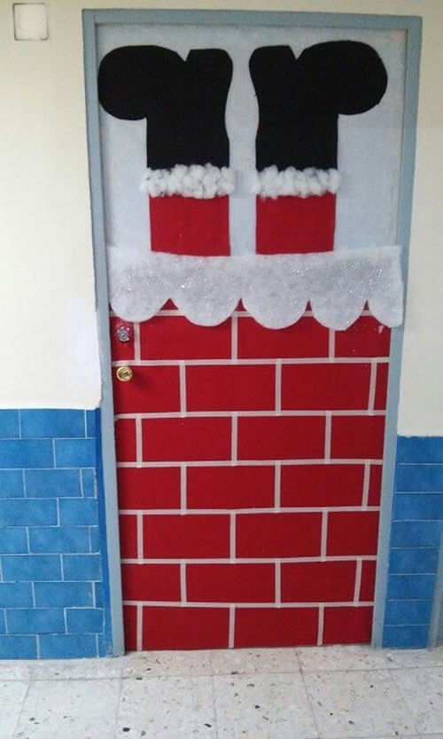 украшаем дверь 3