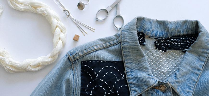 переделка джинсовой куртки 1