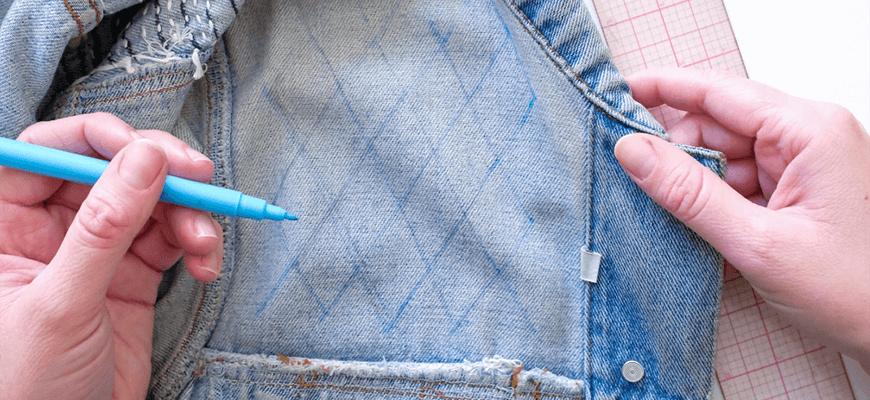 переделка джинсовой куртки 7