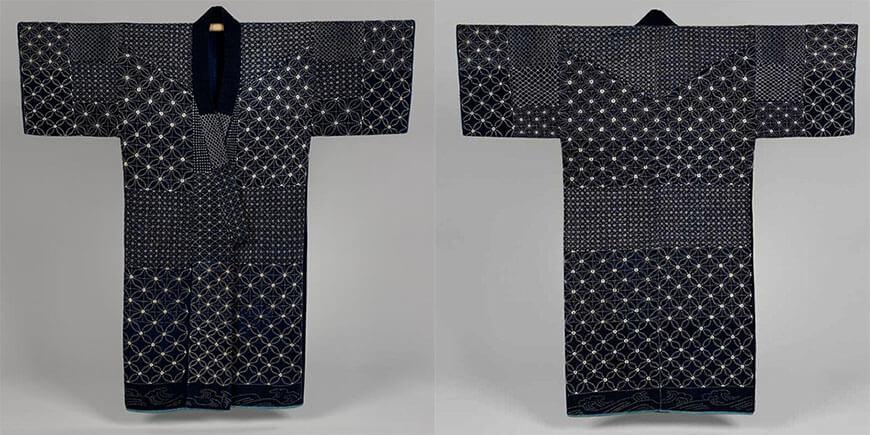 вышивка сашико в одежде